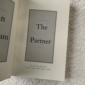Other - The Partner Hardcover Book by John Grisham